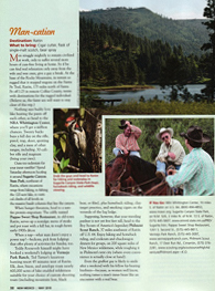 Man-cation, New Mexico Magazine, May 2010