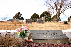 Des Moines Cemetery, Hi Lo Country, New Mexico