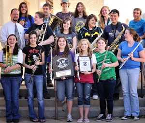Raton High School concert band 2010