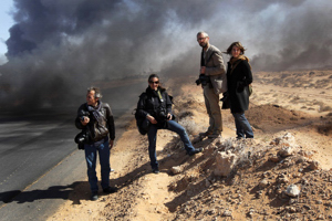 NYT photojournalists in Libya