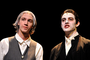 James Neary and Nathan Coleman in Dracula at Raton's Shuler Theater