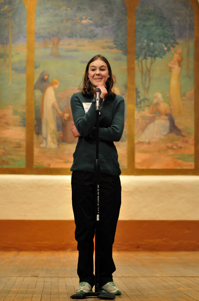 Clair Willden at Poetry Out Loud, Santa Fe 2012