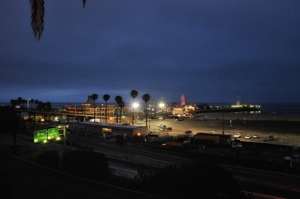 Santa Monica Pier and PCH by Tim Keller
