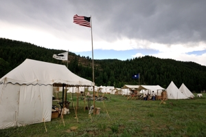 Santa Fe Trail Mountain Man Rendezvous, 2012