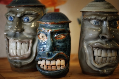 Cookie Jars by Rusty Southerd