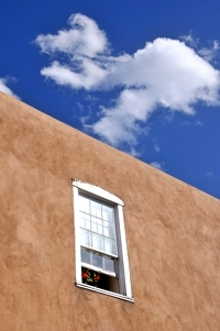 Santa Fe window, by Tim Keller