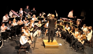 Raton Schools combined bands, Shuler Theater, May 2012
