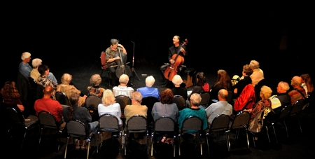 Cellos Two, Mark Dudrow & Michael Kott at Shuler Theater, May 2012