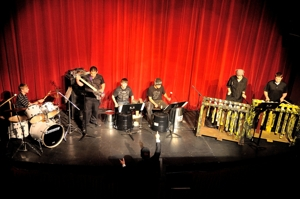 Uncommon Drumming, Raton Schools percussion group, Shuler Theater, May 2012