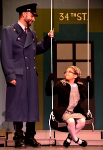 "Dreyson Solano and Zoe Gomez in ""Miracle on 34th Street"""