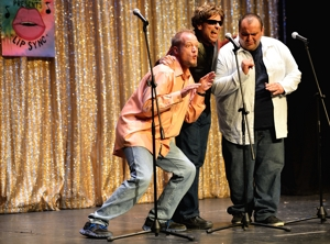 KRTN deejays Billy D, Just Daniel, and Big Mac at Lip Sync 2013