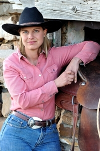 Brittany Rouse, Western Horseman image by Tim Keller