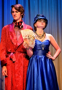 Clue the Musical, Shuler Theater 2013 -- Nathan Coleman & Kate Little