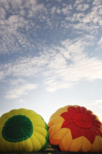 Hot-air balloons in Raton, NM