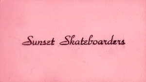 Sunset Skateboarders, Pacific Palisades, California 1963-64