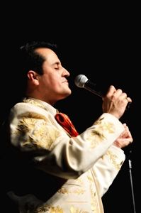Antonio Reyna at Raton's Shuler Theater, by Tim Keller