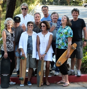 Palisades Skateboard Team reunion 2014