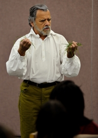 Bruce Alan Noll as Walt Whitman