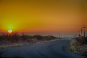 "Lea County ""Oilfield Road"" by Tim Keller"