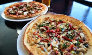 Pizza, Roosevelt Brewing Company, Portales, NM