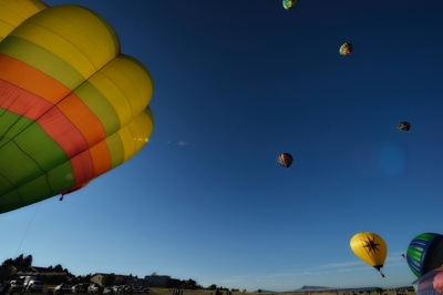 Raton's International Santa Fe Trail Balloon Rally 2014