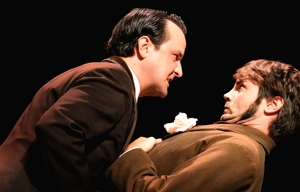 "Ian McCabe & Blake White in ""The Importance of Being Earnest"" - Shuler Theater 2014"