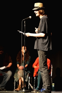 Andy Petrovich, Poetry Rocks! Raton 2014
