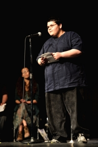 Brent Horner, Poetry Rocks! 2014 Raton