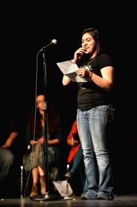 Dariela Aleman, Poetry Rocks! Raton 2014