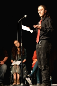 Jeremy Gentry, Poetry Rocks! Raton 2014