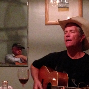 Peter Burg & Frank Young play guitars in New Mexico