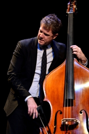 Bassist Steve Doyle accompanies Tony DeSare, Shuler Theater, Raton NM