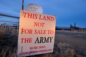 Pinon Canyon ranches Not for Sale