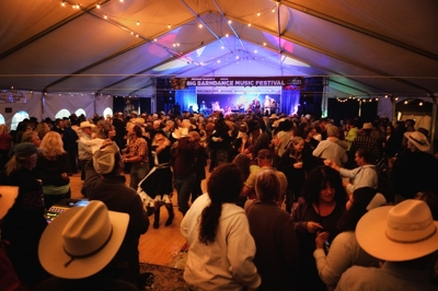 Michael Hearne's Big Barndance Music Festival 2014, dance floor, by Tim Keller