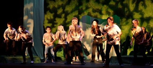 The Jungle Book, Raton's Shuler Theater, summer 2015