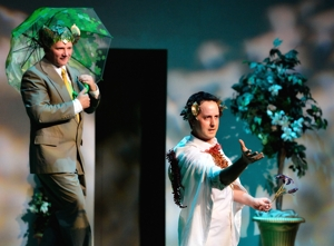 A Midsummer Night's Dream, Shuler Theater 2015, Darren Hill and Blake White