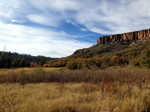 Hiking in Sugarite Canyon State Park, Raton NM, by Tim Keller