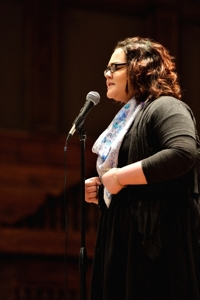 Oceana Vasquez - New Mexico Poetry Out Loud 2016 - Photo by Tim Keller