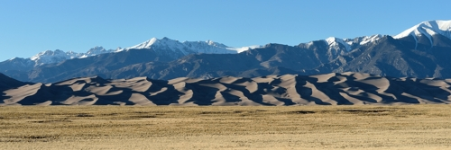 Great Sand Dunes National Park & Preserve - Panorama