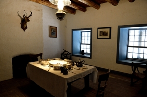 Fort Garland Museum - Kit Carson's Commandant's kitchen