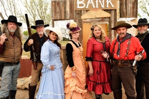 New Mexico Gunfighters at Tucumcari Rawhide Days 2016