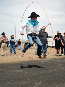 Brice Chapmen, Texas trick roper by Tim Keller Photography