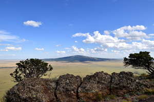 Sierra Grande from Capulin Volcano National Monument, photo by Tim Keller