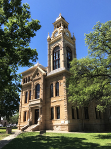 Llano County Courthouse, Lllano Texas