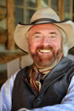 Michael Martin Murphey at Bitter Creek Ranch, by Tim Keller Photography