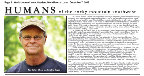 Tim Keller - Humans of the Rocky Mountain Southwest