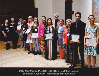 New Mexico Poetry Out Loud 2017 - Photos by Tim Keller