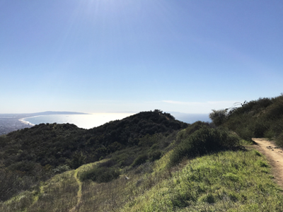 Hiking Temescal Ridge, Pacific Palisades CA