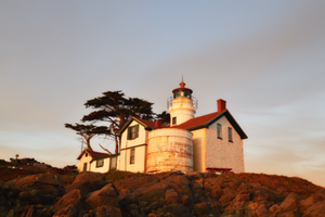 Battery Point Lighthouse at Crescent City, California