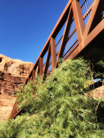 Bridge over Colorado River at Moab, Utah